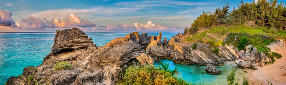 Horshoe Bay, Bermuda, Sunrise, Panorama, Photograph, Landscape, Photographer