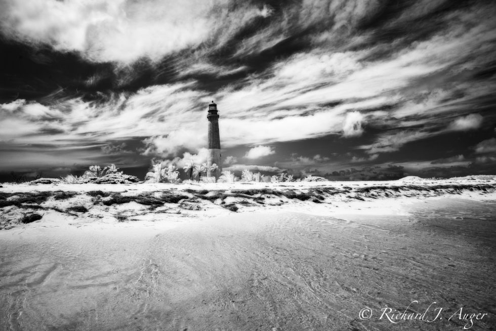 Loggerhead Key, Lighthouse, Dry Tortugas National Park, Florida, Key West, Keys, Water, Ocean, Lighthouse, black and white, clouds, moody, stormy, nature, photographer, photograph, landscape