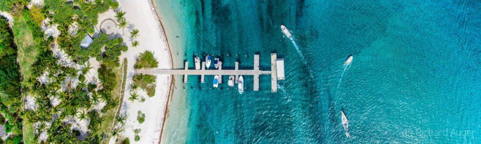 Peanut Island, Palm Beach Inlet, Florida, Drone Aerial